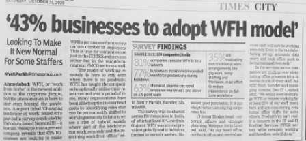 Business to adopt WFH model